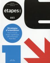 REVUE ETAPES N.223 ; stratégies d'orientation - Couverture - Format classique