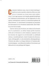 La généaologie du déracinement ; enquête sur l'habitation post-coloniale - 4ème de couverture - Format classique