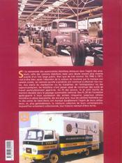 Camions Hotchkiss, L'Heritage Utilitaire - 4ème de couverture - Format classique