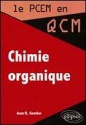 Chimie Organique - Couverture - Format classique