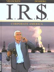 I.R.$ t.7 ; corporate america - Intérieur - Format classique