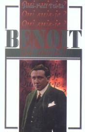 Benoit - Couverture - Format classique