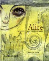 Alice racontée aux petits enfants - Intérieur - Format classique