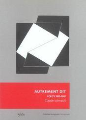 Autrement Dit - Intérieur - Format classique