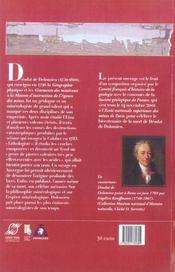 Dolomieu Et La Geologie De Son Temps - 4ème de couverture - Format classique