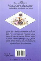Loretta et la petite fee - 4ème de couverture - Format classique