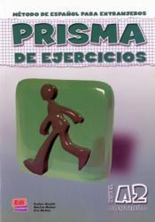 Prisma a2 continua libro de ejercicios - Couverture - Format classique
