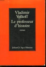 Le Professeur D Histoire. - Couverture - Format classique