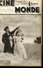 CINEMONDE - 7e ANNEE - N° 317 - NOEL-NOEL - MAX DEARLY - SOIR DE GALA... - Couverture - Format classique