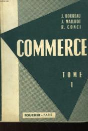 Commerce - Tome 1 - Couverture - Format classique