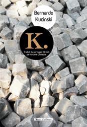 K. - Couverture - Format classique
