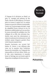 K. - 4ème de couverture - Format classique