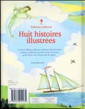 Huit histoires illustrées - 4ème de couverture - Format classique