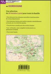 Dordogne ; Périgord Noir, Périgord Vert, Périgord Blanc, Périgord Pourpre - 4ème de couverture - Format classique