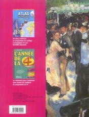 Histoire geo 4e manuel 06 - 4ème de couverture - Format classique