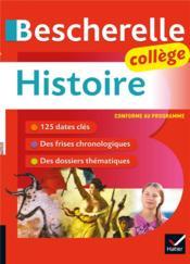 Bescherelle ; histoire ; collège - Couverture - Format classique
