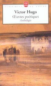 Oeuvres poétiques ; anthologie - Intérieur - Format classique