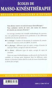 Concours D'Entree Mode D'Emploi - 4ème de couverture - Format classique
