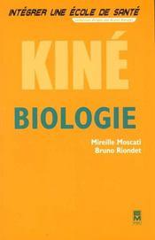 Integrer Une Ecole De Sante ; Biologie Kine - Intérieur - Format classique