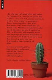 Le jardin de ciment - 4ème de couverture - Format classique