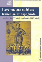 Bulletin De L'Association Des Historiens Modernistes Des Universites T.26 ; Les 2 Monarchies Francaise Et Espagnole - Couverture - Format classique