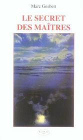 Secret Des Maitres - Intérieur - Format classique