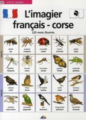 L'imagier français/corse - Couverture - Format classique