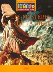 Les Mysteres De La Bible - Couverture - Format classique