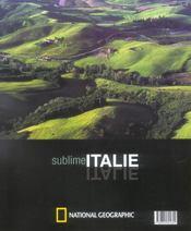 Sublime Italie - 4ème de couverture - Format classique