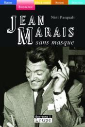 Jean Marais sans masque - Couverture - Format classique