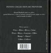 Coleres - 4ème de couverture - Format classique