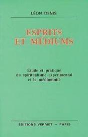 Esprits et mediums - Couverture - Format classique