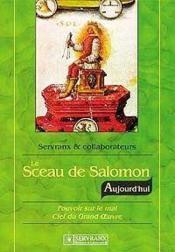 Sceau De Salomon Aujourd'Hui - Couverture - Format classique