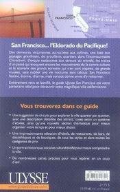 San francisco (4e édition) - 4ème de couverture - Format classique