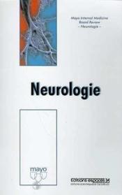 Neurologie mayo clinic - Couverture - Format classique