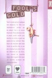 Fool's gold t.1 - 4ème de couverture - Format classique