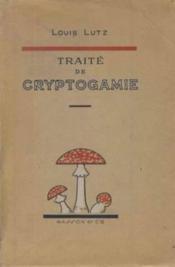 Traité de cryptogamie - Couverture - Format classique