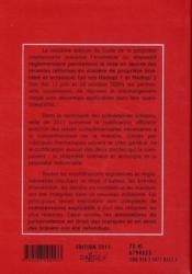 Code de la propriété intellectuelle commenté (édition 2011) - 4ème de couverture - Format classique