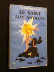 Le saint aux Antilles - Couverture - Format classique
