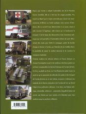 50 Ans De Vehicules Militaires - Tome 1 - 4ème de couverture - Format classique