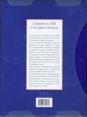 Le Patrimoine De La Sncf - 4ème de couverture - Format classique
