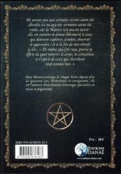 Grimoire de magie verte - 4ème de couverture - Format classique