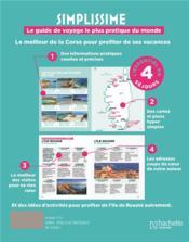 Simplissime Corse, le guide de voyage le + pratique du monde - 4ème de couverture - Format classique