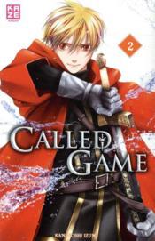 Called game T.2 - Couverture - Format classique