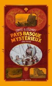Pays Basque mystérieux - Couverture - Format classique