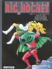 Ric Hochet ; INTEGRALE VOL.8 - Intérieur - Format classique