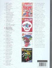Ric Hochet ; INTEGRALE VOL.8 - 4ème de couverture - Format classique