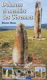Dolmens et menhirs des Cévennes - Couverture - Format classique