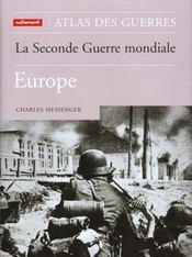 Atlas Des Guerres - La Seconde Guerre Mo - Intérieur - Format classique