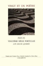 Vingt Et Un Poetes - Couverture - Format classique